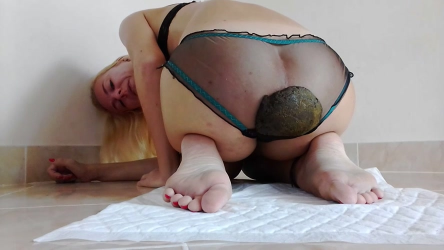 Lovely Panty Poo, Thick Shit Pussy Smear, Orgasms - HD 1280x720 - (Actress: MissAnja  2018)