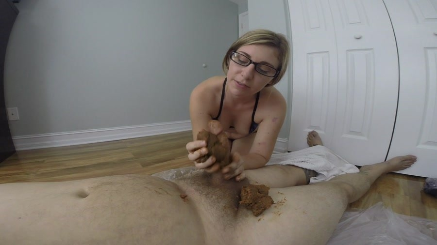 GIGANTIC POOP on his COCK - FullHD Quality MPEG-4 Video 1920x1080 29.970 FPS 13.3 Mb/s - (Actress: HotScatWife 2018)