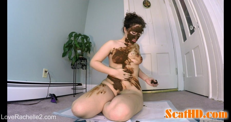 Stinky SHIT Mask! Eating, Smearing and Cumming - 4K UltraHD MPEG-4 Video 4096x2160 29.970 FPS 19.8 Mb/s - (Actress: LoveRachelle2 2018)