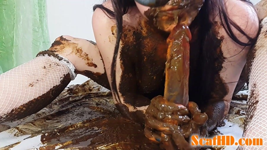 Shit Save Mission COMPLETED Part 2 - FullHD Quality MPEG-4 Video 1920x1080 30.000 FPS 11.8 Mb/s - (Actress: Anna Coprofield 2018)