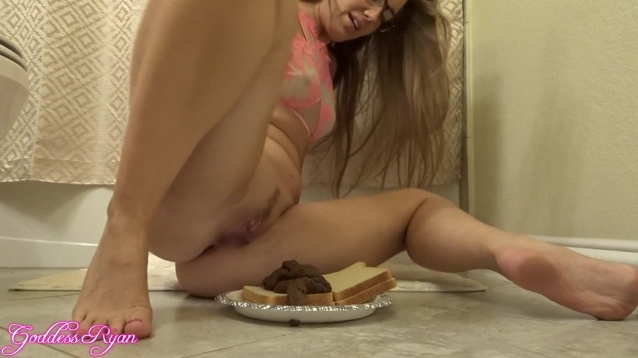 Eat My Spit & Shit Sandwich - FullHD Quality MPEG-4 Video 1920x1080 60.000 FPS 10.2 Mb/s - (Actress: GoddessRyan 2018)