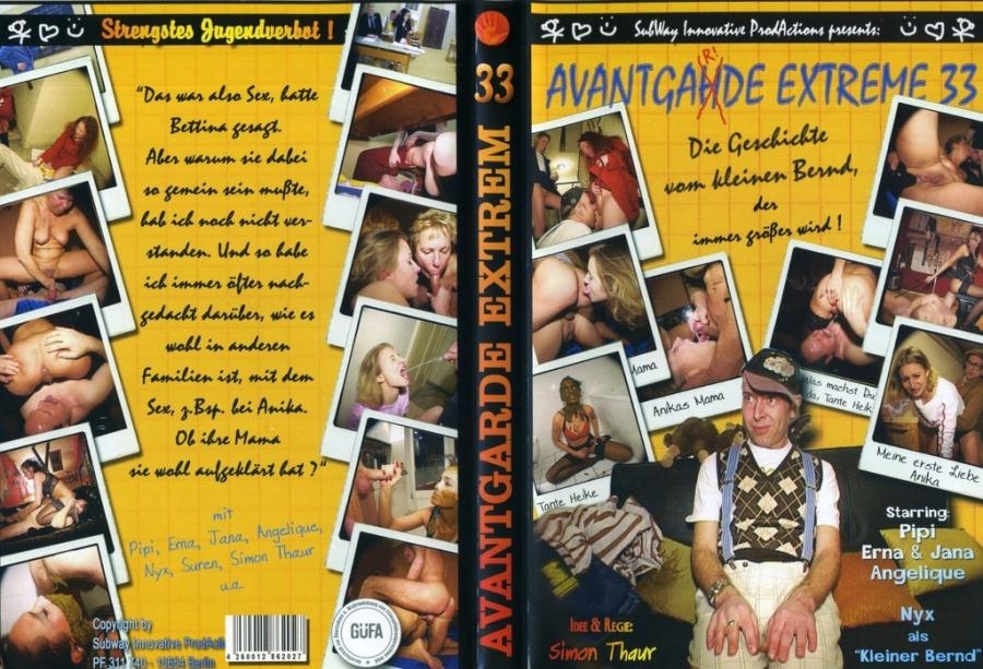 Avantgarde Extreme 33 - DVDRip AVI Video XviD 576x432 25.000 FPS 768 kb/s - (Actress: Pipi, Jana, Erna, Angelique 2018)
