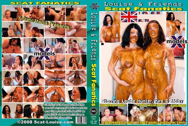 Louise & Friends 7 - Scat Fanatics - DVDRip MPEG-4 Video 512x384 25.000 FPS 1000 kb/s - (Actress: Louise Hunter, Kira, Maisy 2018)
