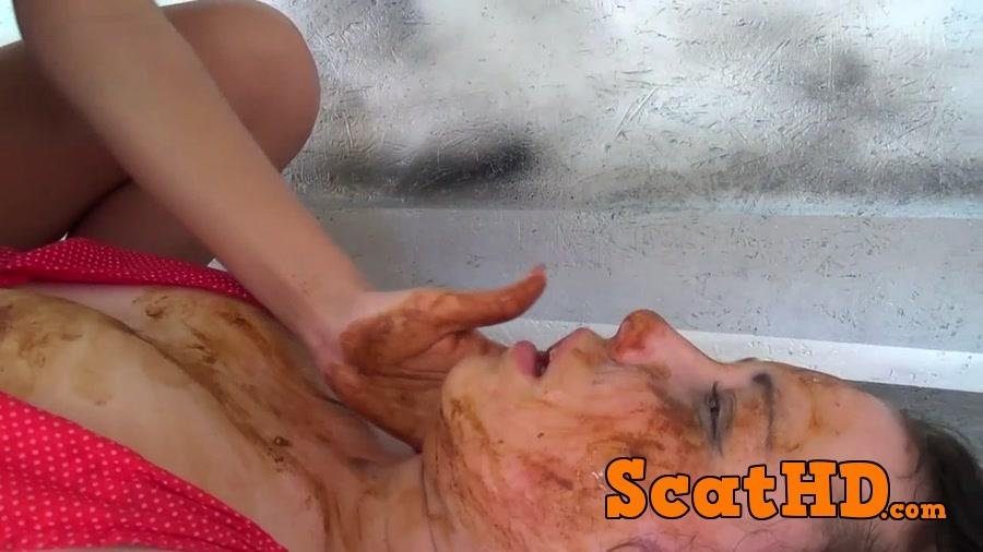 Scat Smother - I Shit In Your Mouth Bitch - By Diana Sky - FullHD Quality  - (Actress: Diana sky, Slave patricia 2018)