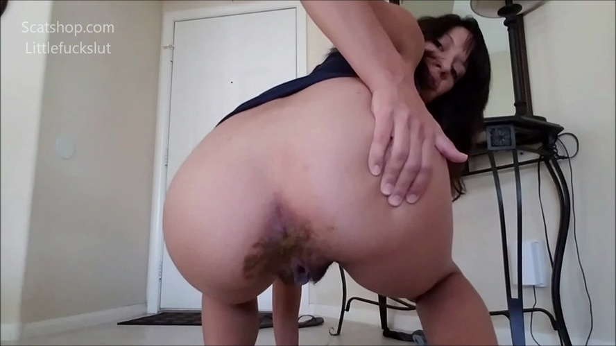 Poop Accident in My Yoga Pants - FullHD 1920x1080 - (Actress: littlefuckslut 2019)
