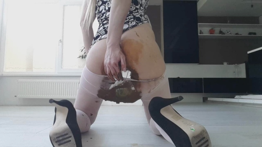 Blonde Pink Pantyhose Fuck Messy - HD 1280x720 - (Actress: thefartbabes 2019)