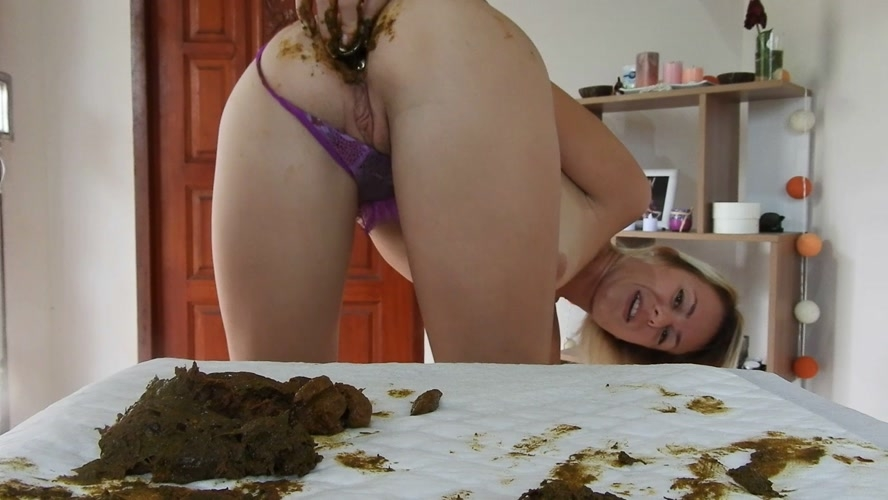 Shitty, Dirty Butt Plug Fun In Gstring Farting - FullHD 1920x1080 - (Actress: MissAnja 2019)