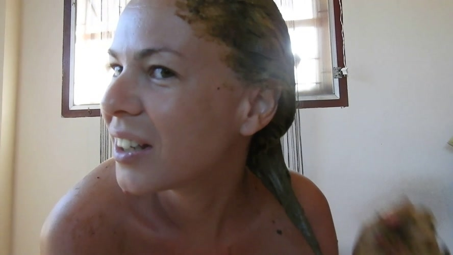 Sensual Scat Smearing On My Blonde Hair - FullHD 1920x1080 - (Actress: MissAnja 2019)