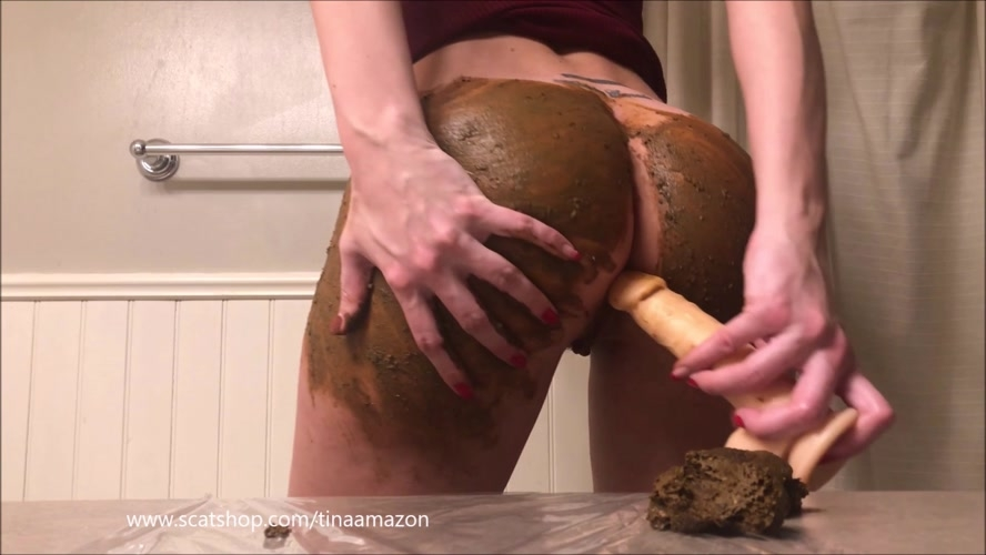 Dirty anal atm with full ass smearing - FullHD 1920x1080 - (Actress: TinaAmazon 2020)