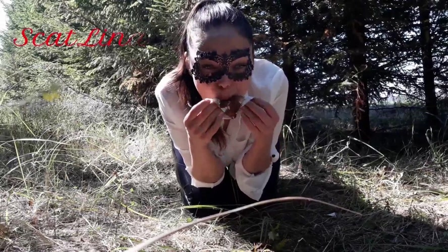 In the woods fetish  - FullHD 1920x1080 - (Actress: ScatLina 2020)