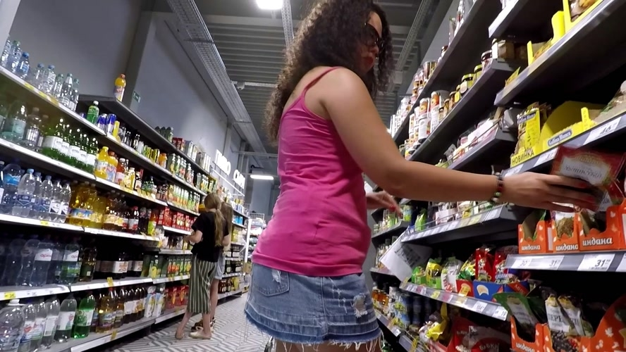 Panty Poop in Public Store - FullHD 1920x1080 - (Actress: janet  2020)