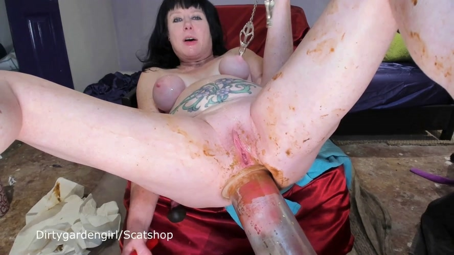 DirtyScatGirl Puke Shitty and Puke Play - FullHD 1920x1080
